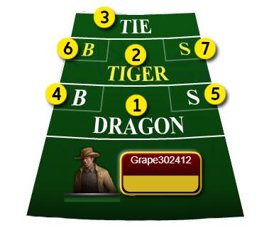 Dragon Tiger Payout