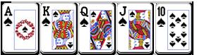 cara ajaib menang poker - royal flush