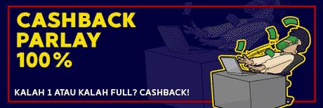Cashback Parlay 100% SuperBola