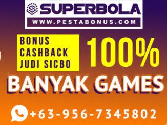 Bonus Taruhan Online Member Baru 50% & Cashback 20% Slot Superbola
