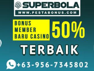 Promo Bonus 100% Member Baru Pasti Untung Main Judi Bola Online