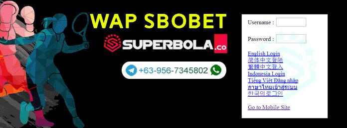 Pentingnya mengetahui mengenai link WAP SBObet online