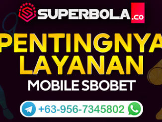 SBOBET Mobile melalui Akun Superbola