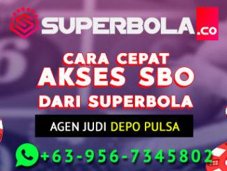 Www Sbobet Com Online Dan Cara Cepat Akses SBO Link Dari Superbola