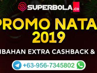Promo Natal 2019 Situs Judi Online Superbola