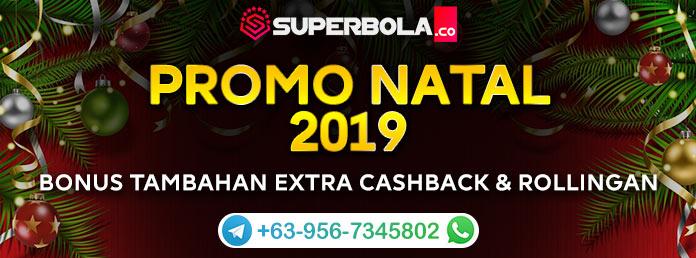 Promo Natal 2019 Situs Judi Online Terpercaya Superbola
