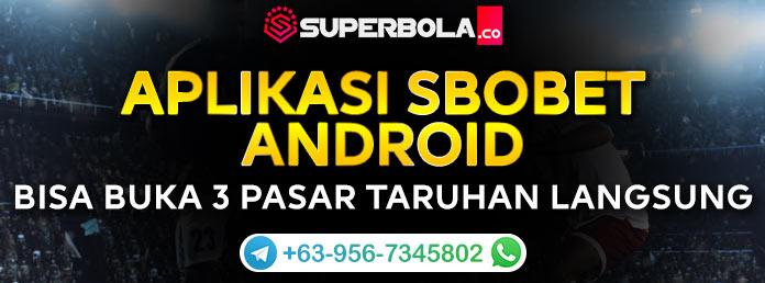 Wap Sbobet Online Terbaik Superbola Agennya Judi Bola ...