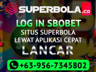 Log in Sbobet