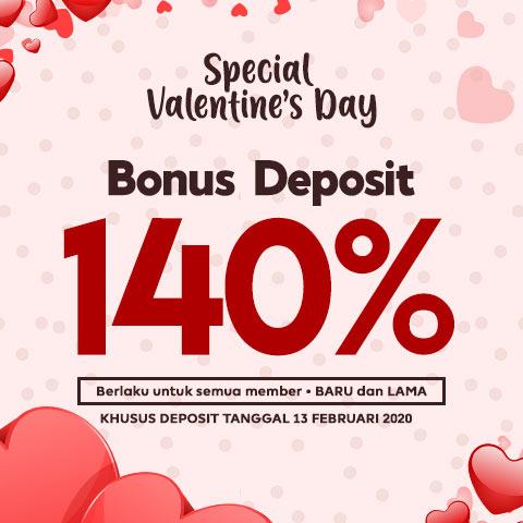 Promo Spesial Hari Valentine 2020 - Superbola