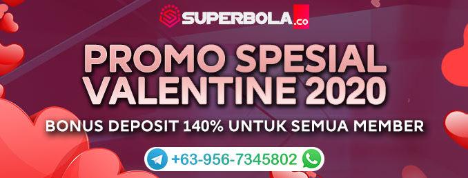 Promo Spesial Hari Valentine - Superbola
