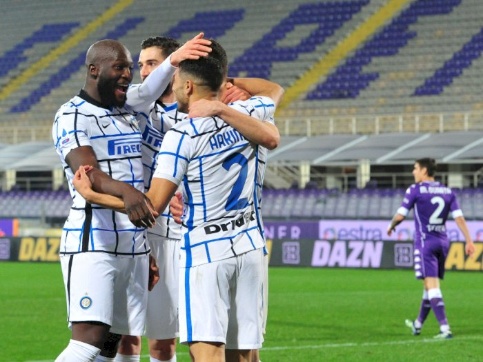 Fiorentina Vs Inter Milan: La Beneamata Menang 2-0