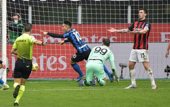 Hasil Liga Italia Giornata Ke-23: Inter Menangi Derby Milan