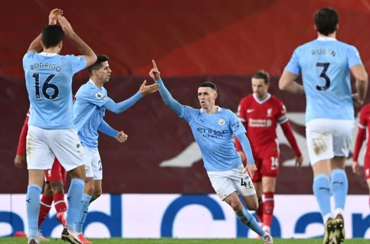 Hasil Liverpool Vs City, The Citizens Menang Telak 4-1