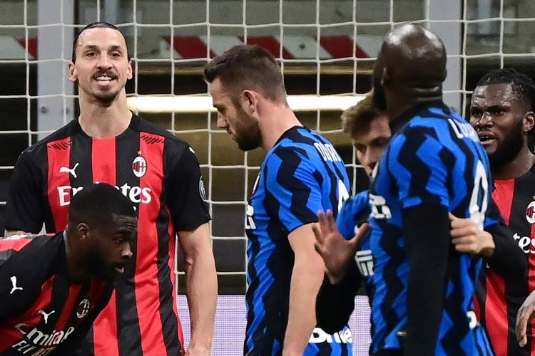 Jelang Derby Della Madonnina, Inter Unggul Head To Head