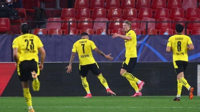 Sevilla Vs Borussia Dortmund: Haaland Cetak Brace, Dortmund Menang 3-2