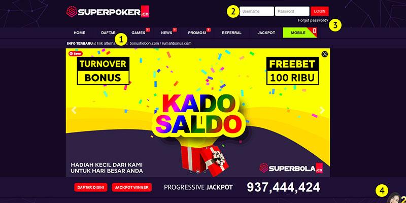 SuperPoker Situs Poker Terpercaya