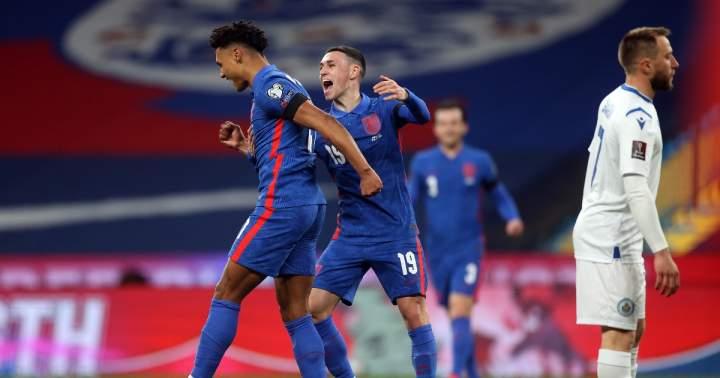 Inggris Vs San Marino: The Three Lions Berpesta Gol 5-0