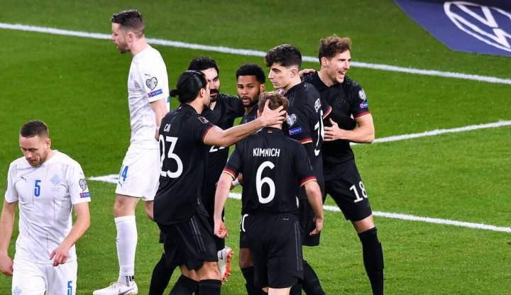 Jerman Vs Islandia: Die Mannschaft Cukup Islandia 3-0