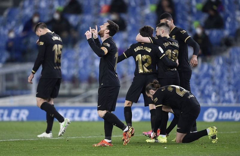 Pekan Ke-28 Liga Spanyol 2020-2021, Barcelona Berpesta Gol