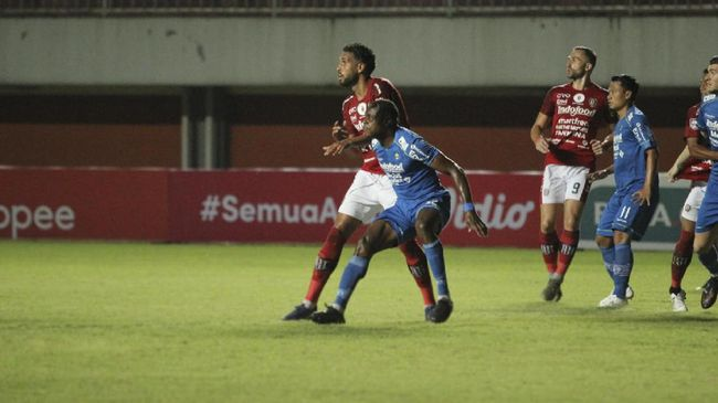 Persib Vs Bali United: Skor Seri 1-1 Akhiri Laga Kedua Tim