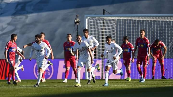 Real Madrid Vs Elche: Susah Payah Los Blancos Kalahkan Elche