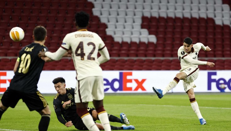 Ajax Vs AS Roma: Sempat Tertinggal, I Lupi Unggul 2-1