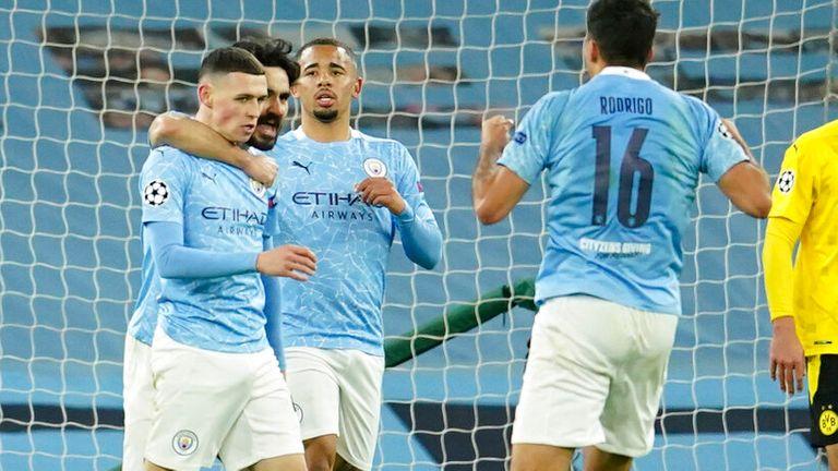 Manchester City Vs Dortmund: Gol Telat Foden Menangkan City 2-1