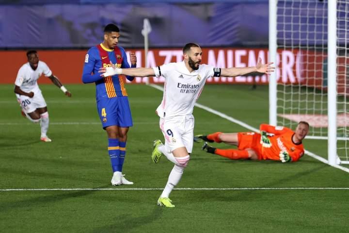 Real Madrid Vs Barcelona: El Real Menangi Laga El Clasico