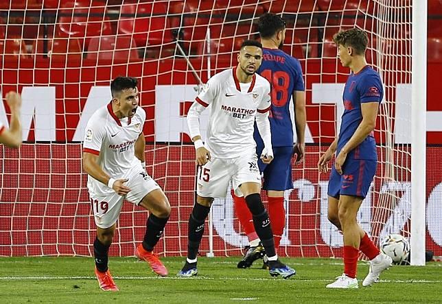 Sevilla Vs Atletico: Los Colchoneros Dibungkam Sevilla 1-0