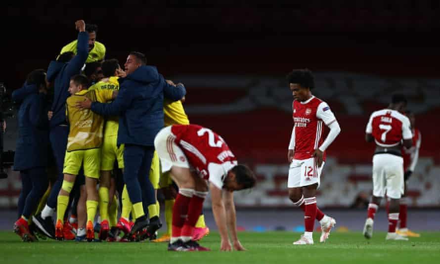 Arsenal Vs Villarreal: Imbang 0-0, The Gunners Disingkirkan Villarreal