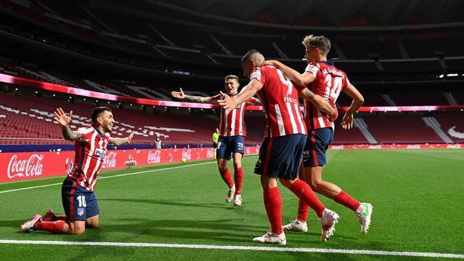 Atletico Madrid Vs Sociedad: Los Colchoneros Catatkan Kemenangan 2-1