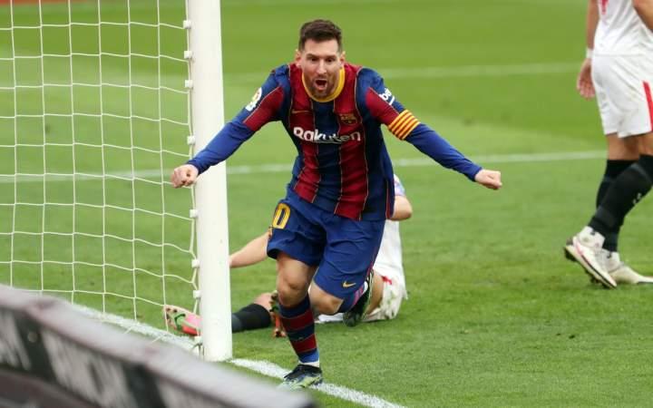 Lionel Messi Dalam Angka Di La Liga Musim 2020-2021 Ini