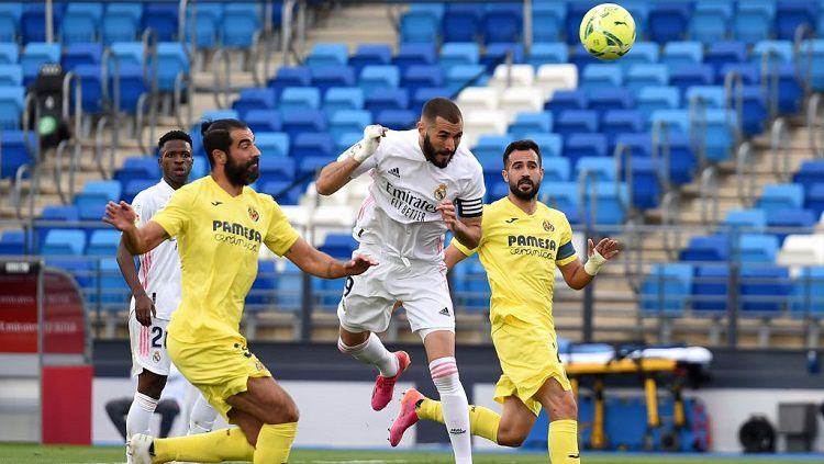 Real Madrid Vs Villarreal: Raih Kemenangan, Los Blancos Finis Kedua