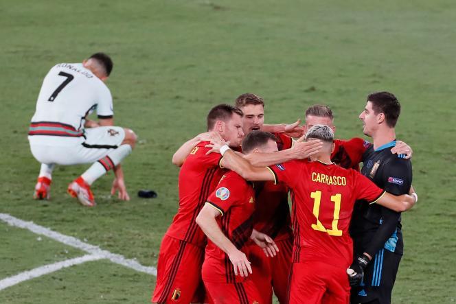 Belgia Vs Portugal: Gol Thorgan Hazard Buat Portugal Tersingkir
