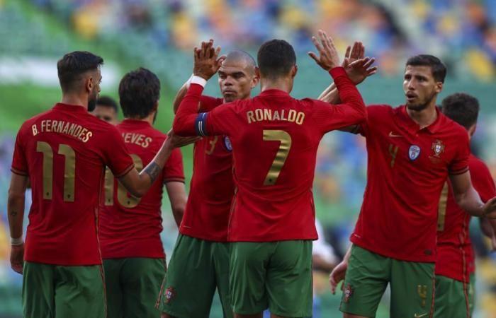 Portugal Vs Israel: Bruno Fernandes Brace, Portugal Menang 4-0