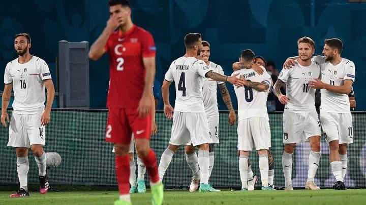 Turki Vs Italia: Menang 3-0, Gli Azzurri Menangi Partai Pembuka