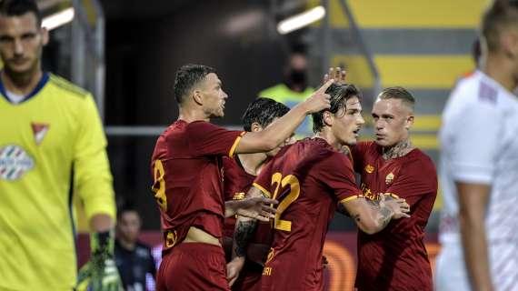 AS Roma Vs Debrecen: I Lupi Raih Kemenangan Telak 5-2