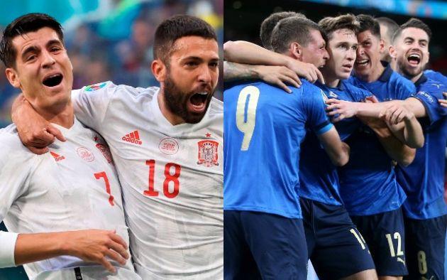 Jelang Italia Vs Spanyol Di Babak Semifinal Piala Eropa 2020