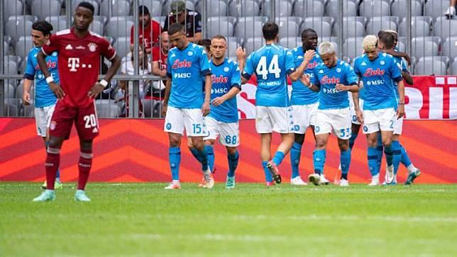 Bayern Munich Vs Napoli: Die Roten Kembali Raih Hasil Minor
