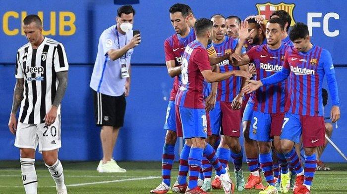 Hasil Trofeo Joan Gamper: Juventus Dibekuk Barcelona 3-0