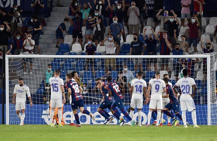 Levante Vs Real Madrid: Vinicius Dua Gol, Madrid Imbangi Levante