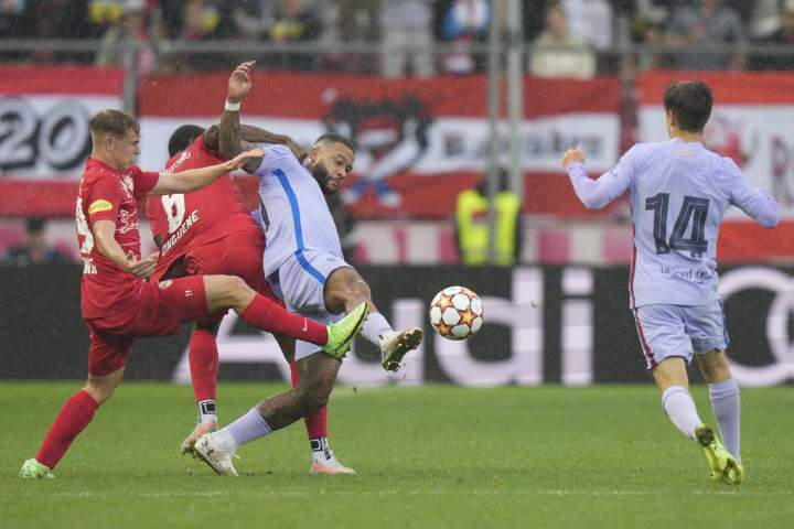 RB Salzburg Vs Barcelona: Salzburg Tumbangkan Blaugrana 2-1