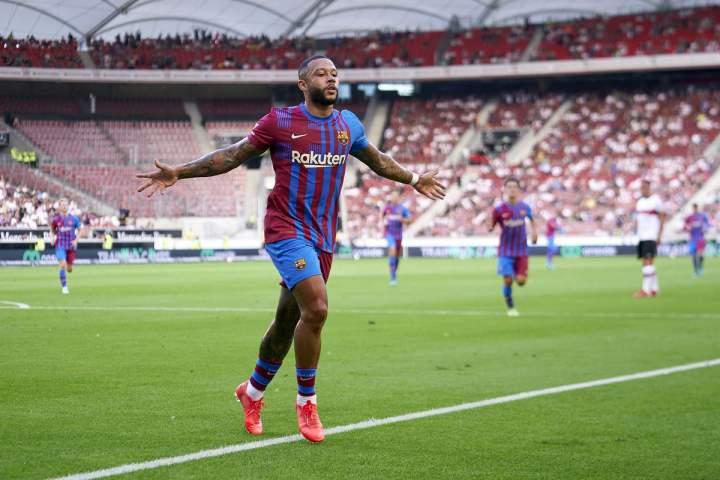 Stuttgart Vs Barcelona: Depay satu Gol, Barcelona Menang 3-0