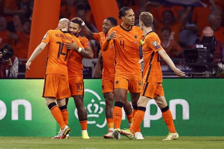 Rekap Kualifikasi PD 2022 Zona Eropa Semalam, Belanda Pesta Gol