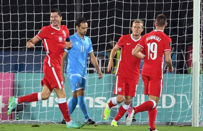 San Marino Vs Polandia: Lewandowski Dua Gol, Polandia Menang 7-1