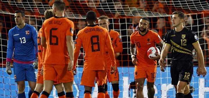 Belanda Vs Gibraltar: Depay CS Menang Telak 6-0