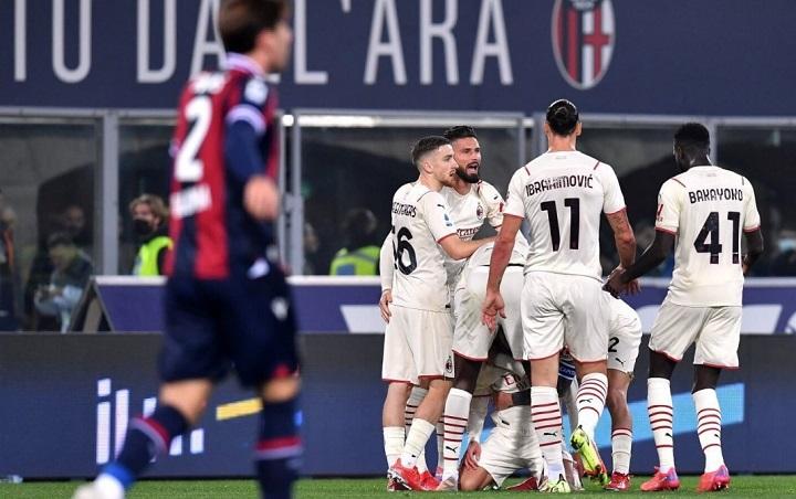 Bologna Vs AC Milan: Zlatan Ibrahimovic CS Menang 2-4