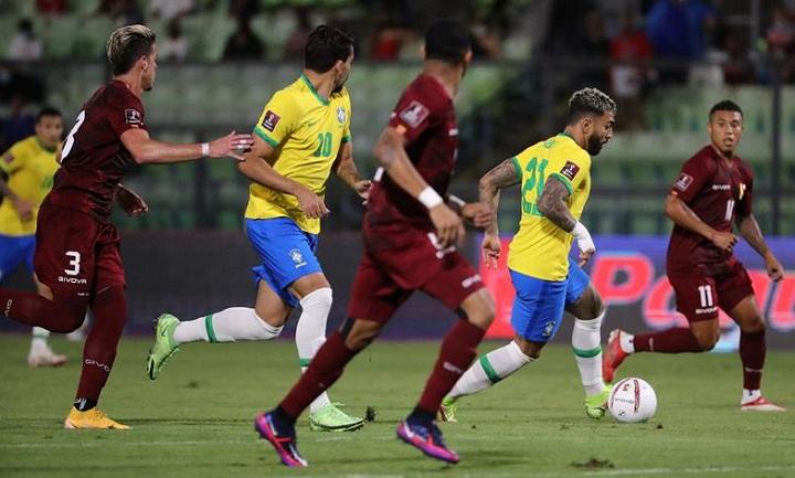 Kualifikasi PD 2022 Zona CONMEBOL: Brasil Menang, Argentina Imbang